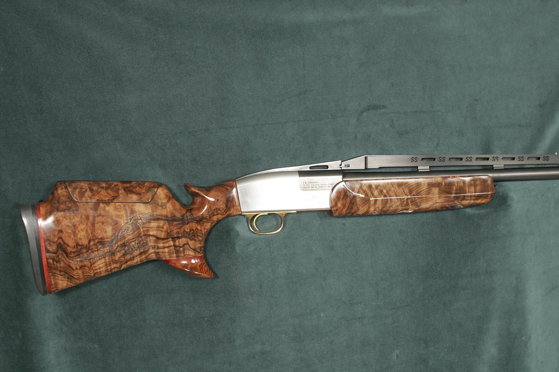 Silver Seitz Artisan Stock And Gunworks